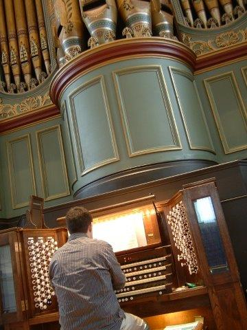 Organs Played & Gallery – Paul Carr