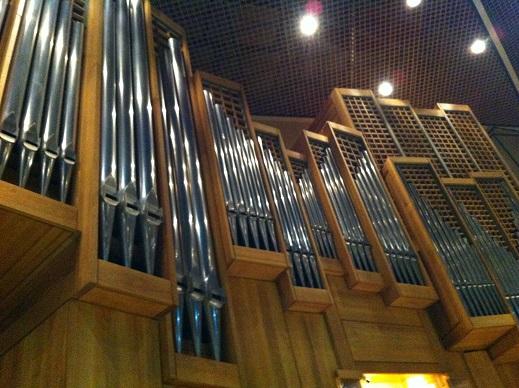 Organ in St David's Hall, Cardiff