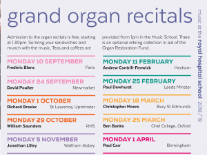 Holbrook Grand Organ Recitals