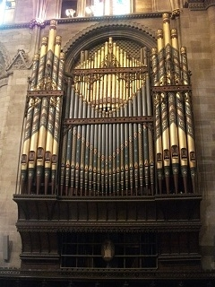 Hereford Cathedral Organ Case