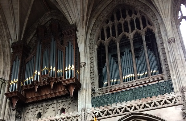 Lichfield Cathedral Organ Cases